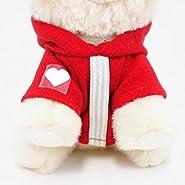 """Gund Itty Bitty Boo #033 Hoodie Plush, Red, 5"""""""