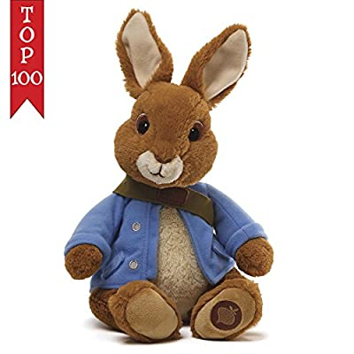 Gund Peter Rabbit Peter Rabbit Wearing Blue Jacket 11.5 Animal Plush Toy 4042617