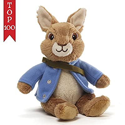 Gund Peter Rabbit with Blue Jacket Beanbag Stuffed Animal Plush Toy 4042614 New