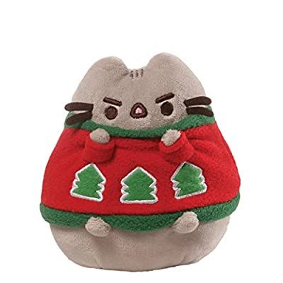 Gund Pusheen Holiday Sweater Stuffed Animal
