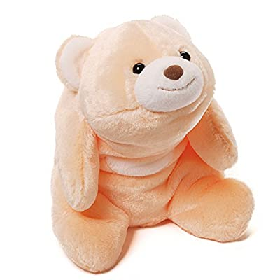 Gund Snuffles Peach Bear Plush, 10""