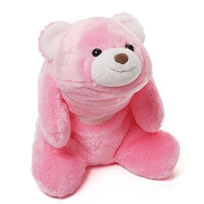 "Gund Snuffles Pink 10"" Bear Plush"