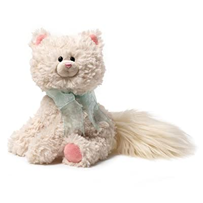 "Gund Sybella White Cat 8"" Plush"