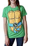 Haunted Flower Teenage Mutant Ninja Turtles Juniors Two-Sided Costume T-Shirt