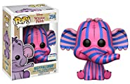 Heffalump #256 (Pink / Purple Stripes) Winnie the Pooh Pop! Disney Vinyl Figure (Barnes & Nobles Exclusive)