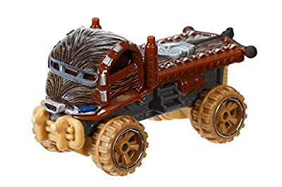 Hot Wheels Star Wars Chewbacca Character Car