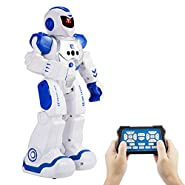 iHobby Remote Control Robots - RC Funny Toys Robots, Remote Control Programmable,Singing, Dancing, Walking, Gesture Sensing Robots, Remote Control Robots For Kids, Blue