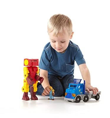 Imaginext City Big Rig and Robot
