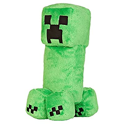 """JINX Minecraft 10.5"""" Creeper Plush Stuffed Toy (Unboxed with Hang Tag)"""
