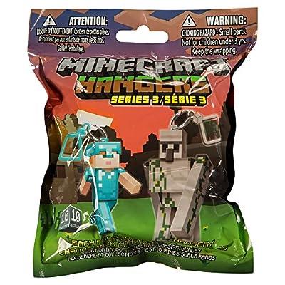 """JINX Minecraft 3"""" Figure Hangers Blind Pack, Series 3 (Styles Vary)"""