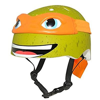 Krash Nickelodeon TMNT Michelangelo 5+ Kids/Youth Bicycle Helmet