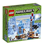 LEGO Minecraft The Ice Spikes 21131 Building Kit (454 Pieces)