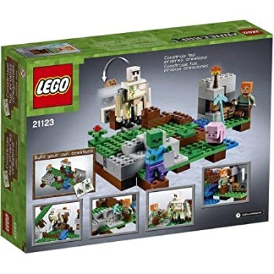 LEGO Minecraft The Iron Golem , 208 Pieces, 8 years and up