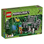 LEGO Minecraft The Jungle Temple 21132 Building Kit (598 Pieces)
