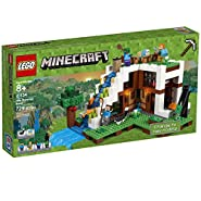 LEGO Minecraft The Waterfall Base 21134 Building Kit (729 Pieces)