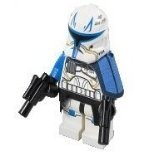Lego Star Wars Clone Captain Rex Minifigure (2013)