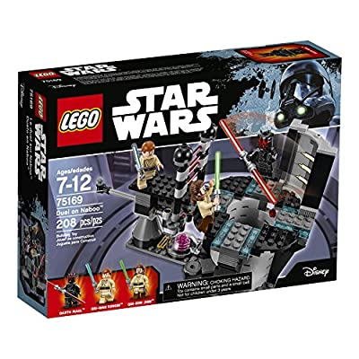 LEGO Star Wars Duel On Naboo 75169 Building Kit (208 Pieces)