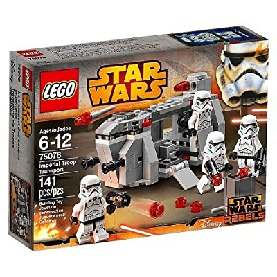 Lego Star Wars Imperial Troop Transport 75078 TRG