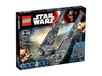 LEGO Star Wars Kylo Ren's Command Shuttle 75104 Building Kit