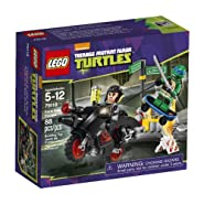 LEGO, Teenage Mutant Ninja Turtles, Karai Bike Escape Building Set (79118)