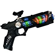 LilPals Space Gun With Flashing LEDS and Sounds. Supper Fun and Colorful