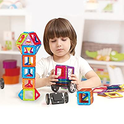 Magnetic Building Blocks Construction Learning Educational Toys Set for Toddlers / Kids - 30pcs ¡­