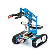Makeblock DIY Ultimate 2.0 Robot Kit - Premium Quality - 10-in-1 Robot - STEM Education - Arduino - Scratch 2.0 - Programmable Robot Kit for Kids to Learn Coding, Robotics, Electronics and Have Fun