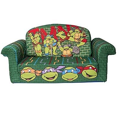 Marshmallow Fun Furniture Nickelodeon's Teenage Mutant Ninja Turtles - Retro Flip Open Sofa
