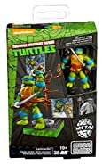 Mega Bloks Teenage Mutant Ninja Turtles Collectors 1987 Classic Leonardo Figure