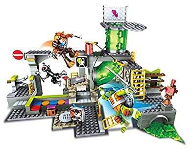 Mega Bloks Teenage Mutant Ninja Turtles Sewer Lair
