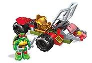 Mega Construx Teenage Mutant Ninja Turtles Half-Shell Heroes Raph Shell Cycle