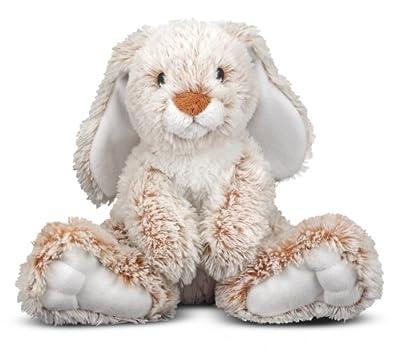 "Melissa & Doug Princess Soft Toys 14"" Plush Burrow Bunny"