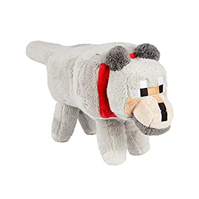 "Minecraft 15"" Wolf Plush Stuffed Animal"