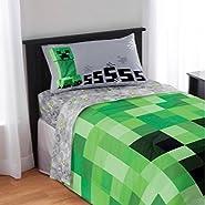 Minecraft 4-Piece Microfiber Sheet Set - Full