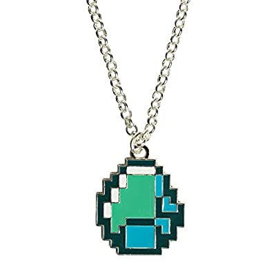 Minecraft Diamond Pendant Necklace