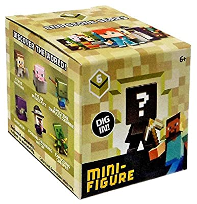 Minecraft End Stone Series 6 Mini Figure Mystery Pack