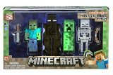 Minecraft Figure 4-pack Hostile Mobs Set