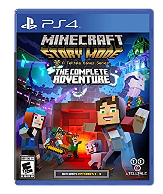 Minecraft: Story Mode- The Complete Adventure - PlayStation 4