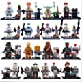 MiniFigures Star Wars C-3PO Darth Vader Chewbacca Master Yoda toys 16pcs/Lot