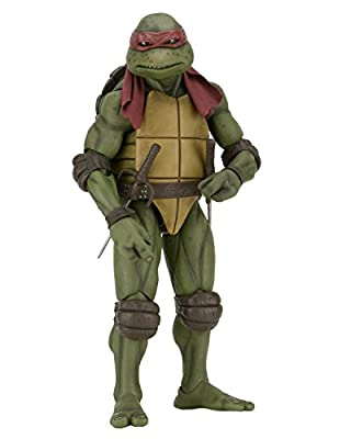 NECA Children's Teenage Mutant Ninja Turtles (1990 Movie) 1/4 Scale Raphael Figure