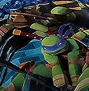 Nickelodeon Teenage Mutant Ninja Turtles Microfiber Headboard Cover