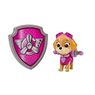 Paw Patrol Action Pack Pup & Badge Toy