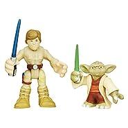 Playskool Heroes Star Wars Galactic Heroes Yoda and Luke Skywalker