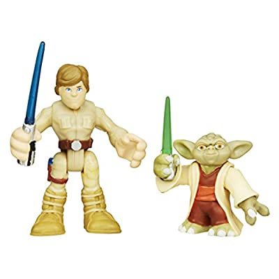Playskool Heroes Star Wars Galactic Heroes Yoda and Luke Skywalker
