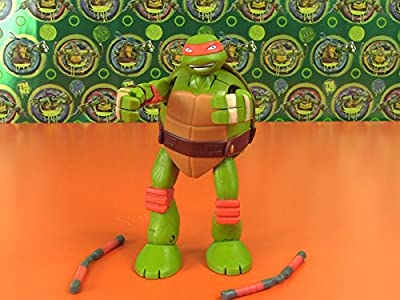 Review: Transforming Ninja Mikey to Pet Turtle Action Figure Review