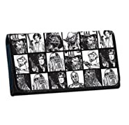 Rock Rebel Star War Women's Check Wallet