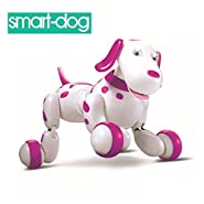 SainSmart Jr. Wireless Remote Control Electronic Smart Dog Pet Children's Toy Dancing Robot Electric Dog
