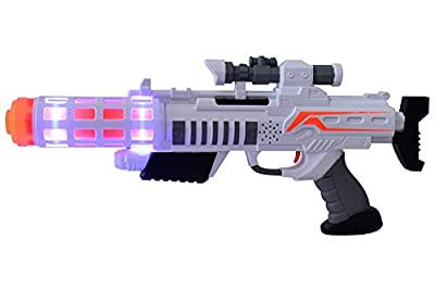 Space Wars Series:planet Of Toys Space Gun Big 43cms (led Light And Sound)