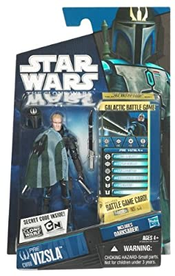 Star Wars 2010 Clone Wars Animated Action Figure CW No. 08 Pre Vizsla (Mandalorian)