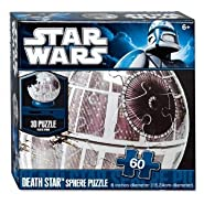 "Star Wars 6"" Death Star 60 Piece Sphere Puzzle"